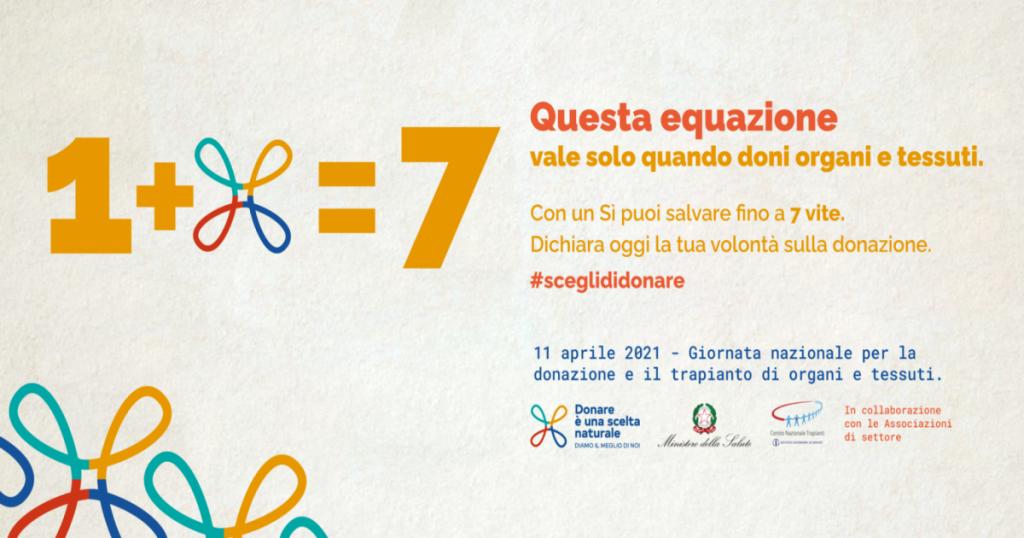 Giornata nazionale della donazione