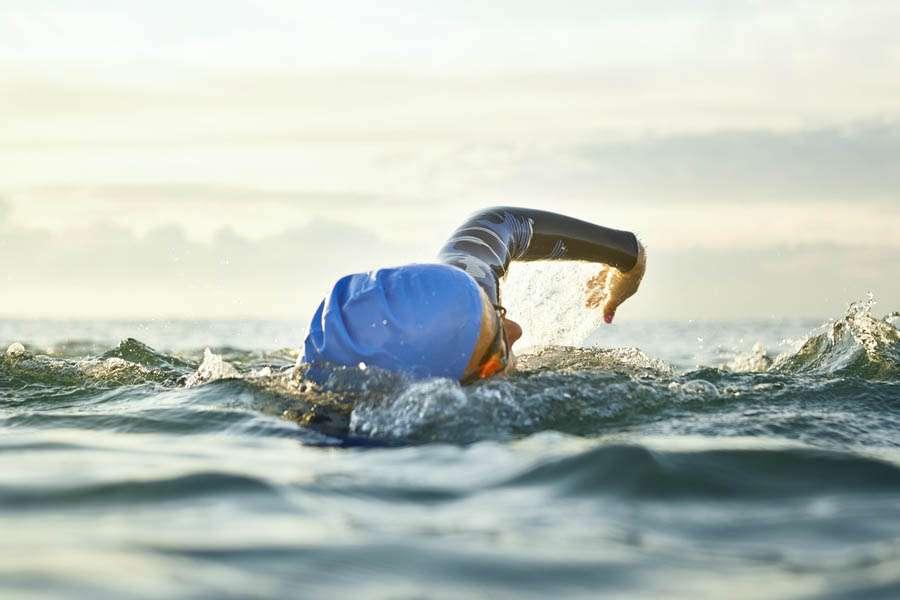 Swim For Parkinson, la nuotatrice Cecilia Ferrari